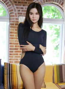 优星馆王欣然爆乳内衣诱惑性感紧身衣翘臀美女大尺度图片