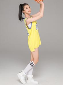 创造101Yamy可爱俏皮篮球宝贝性感美少女写真图片