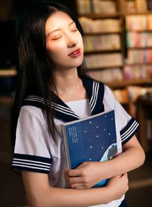 清纯校花美女学姐JK制服学生妹唯美写真图片欣赏