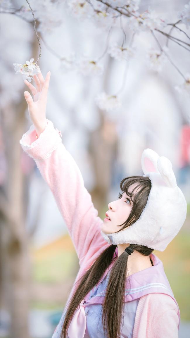 日系双马尾可爱小萝莉JK制服约拍 美女摄影写真图片