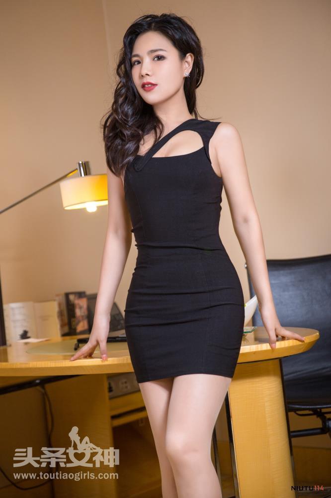丁筱南头条女神御姐控肉丝诱惑丝袜修长大白腿写真图片