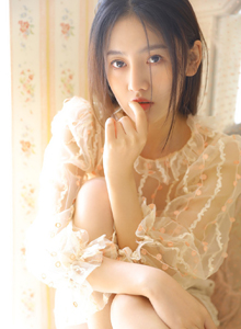 梦幻蕾丝气质女神小清新美女手机壁纸图片写真