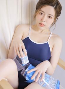 素颜清纯美女惹火好身材美女性感泳衣死库水MM131美女写真