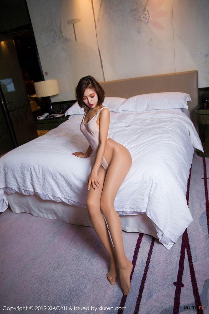 冯木木死库水内衣美女性感大长腿[语画界XIAOYU] Vol.021写真集