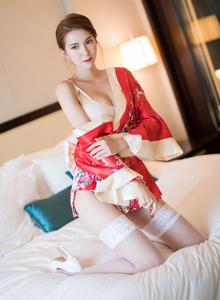 性感的和服美女白丝美腿私房魅惑 语画界陈良玲Vol.014写真