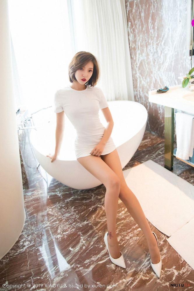 冯木木LRIS浴室美女大长腿美臀魅惑无圣光语画界Vol.039 写真集