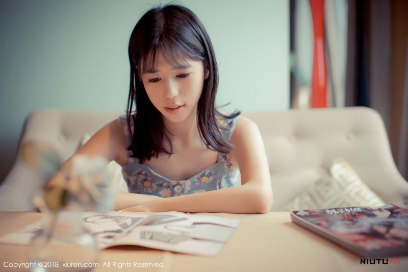 王雨纯/妮小妖巨乳美女制服诱惑姐妹花[花漾HuaYang] Vol.048 写真集