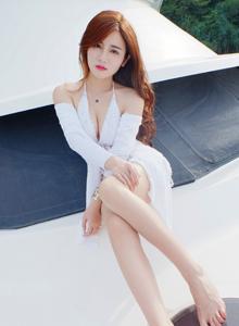 [秀人网XiuRen]木木hanna性感美女豹纹比基尼美腿诱惑No.462 写真集