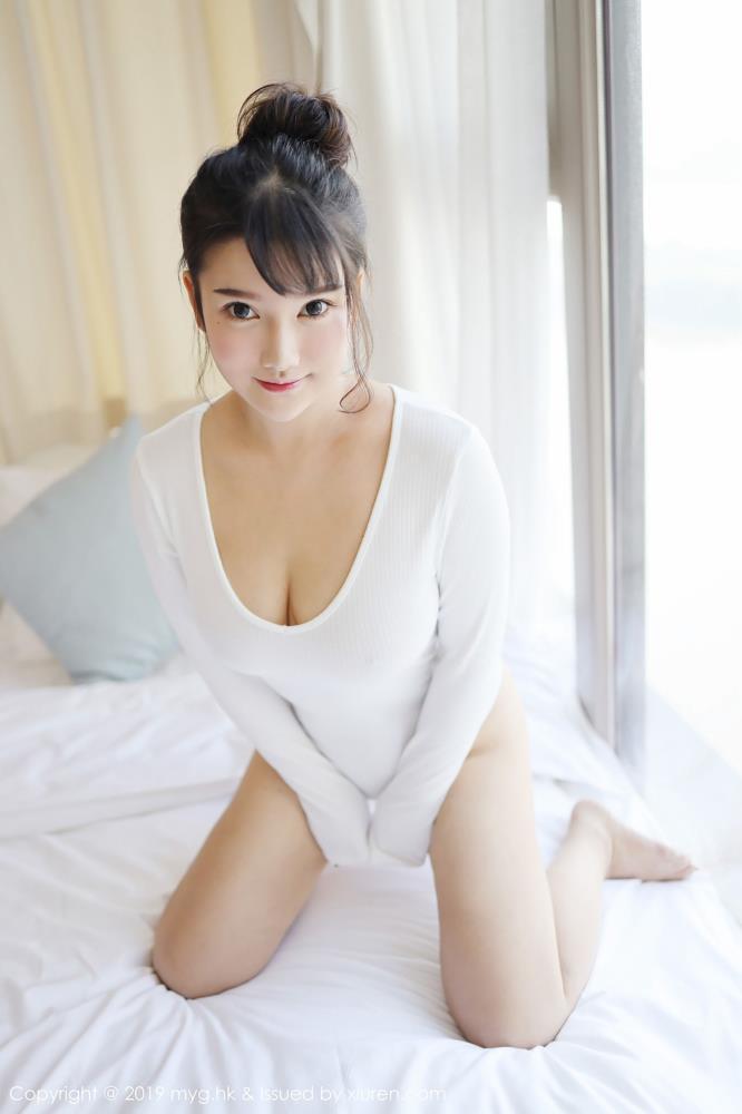 美媛館小清新美女小尤奈低胸內衣誘惑比基尼性感美腿Vol.342寫真集