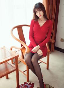 性感黑丝御姐陈天扬大尺度私房照 爱蜜社陈天扬Vol.011 写真集
