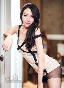 头条女神丹丹身材性感高挑美女御姐控大长腿黑丝诱惑大尺度私房写真集