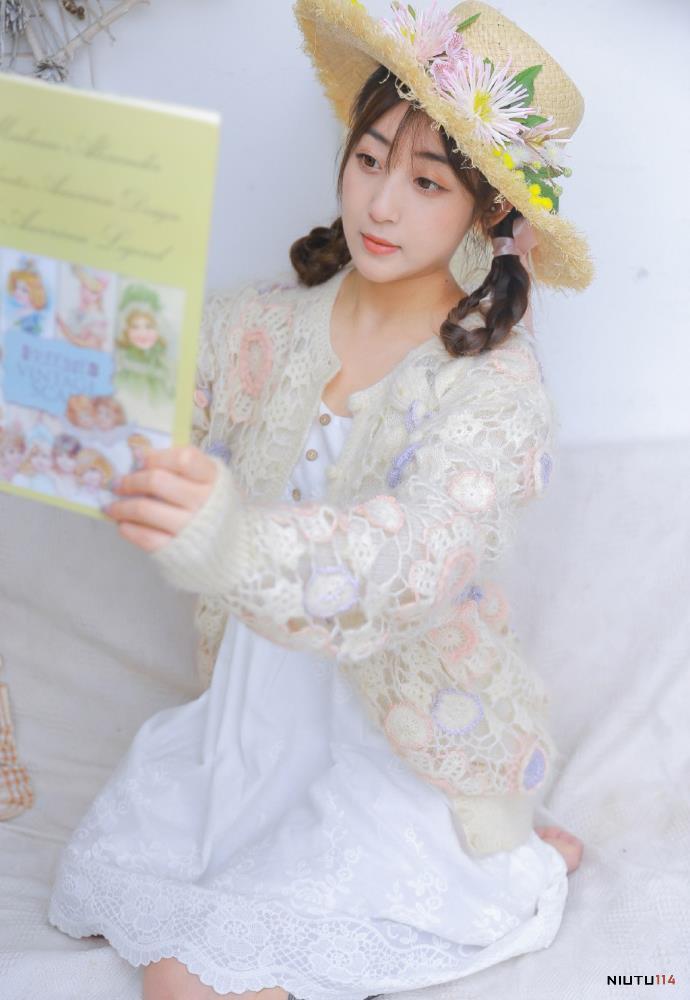 连衣裙美女性感迷人小萝莉治愈系小姐姐摄影写真图