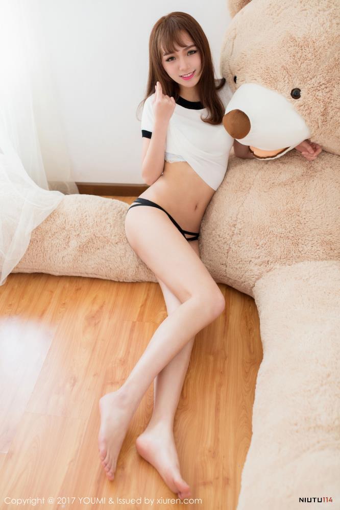 甜美体操服妹子尤蜜荟不柠bling 卡哇伊清纯可爱美女写真集