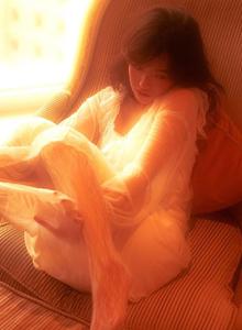 复古美女迷离光影性感MM私房魅惑蕾丝美女系列写真图片