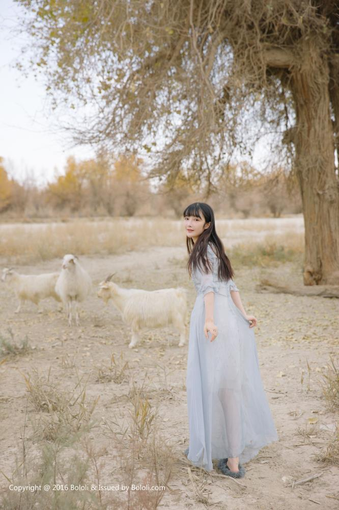 [Kimoe激萌文化]王之应小清新美女萝莉沙漠唯美高清写真集