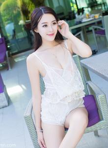 魅妍社美女模特王曼妮泳装美女_小清新系列_比基尼美女大图写真