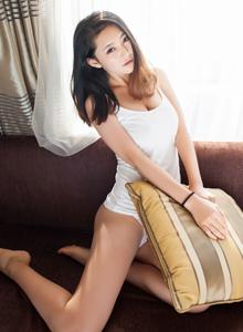 爱蜜社夏茉GIGI居家美女性感清纯连体内衣大长腿大尺度写真集