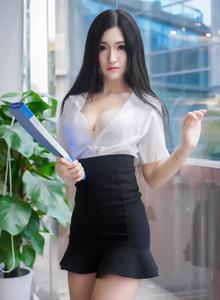 推女神尤物_沈梦瑶_办公室女秘书OL制服诱惑不可挡系列高清大图