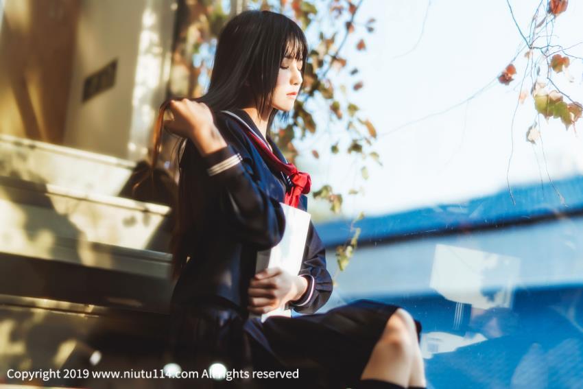 桜桃喵_少女制服诱惑_学生妹主题JK制服可爱清纯美女萌妹子写真集