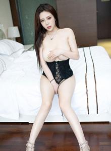 Miki兔性感镂空内衣美女巨乳诱惑 魅妍社巨乳美女写真集