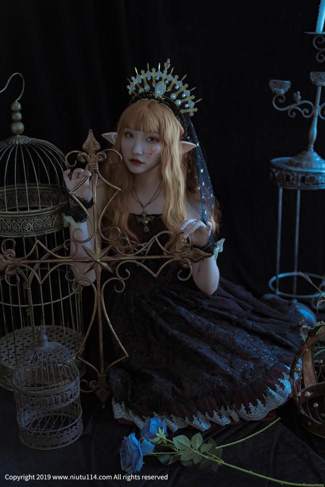 塞壬之吻Lolita可爱小萝莉Cosplay黑丝美腿福利图片