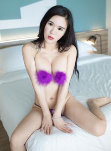 [YOUWU尤物馆]王紫琳波涛性感美女美胸秀腿第三套写真