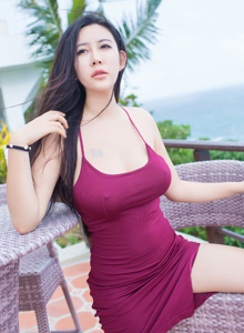 [IMiss爱蜜社]丰满性感巨乳女神Abby李雅长滩唯美户外旅拍
