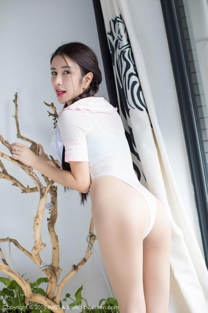 [IMiss爱蜜社]李李七七喜喜无圣光SM捆绑诱惑性感美女私房写真