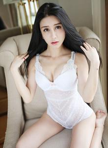 [MyGirl美媛馆]性感女神李七喜高颜值白皙美女修长美腿私房照