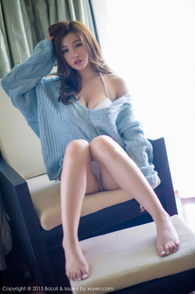 网络红人刘娅希美胸性感美女私房 - 波萝社VOL.037三亚旅拍套图