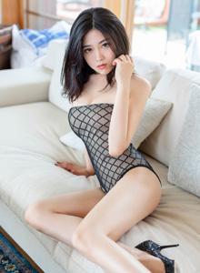 许诺Sabrina爱蜜社 - 比基尼美女女神的透视装魅力高清美女写真集