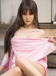 Cheryl青树 - 尤果圈爱尤物蕾丝睡衣美女性感美腿美胸私房写真集