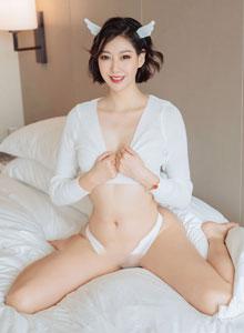 付艺轩 - 花漾HuaYang性感情趣内衣诱惑Vol.167美女写真集