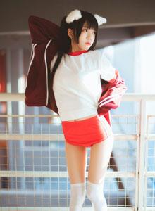 桜桃喵 - 二次元萌妹子白丝萝莉体操服美女Cosplay福利写真集