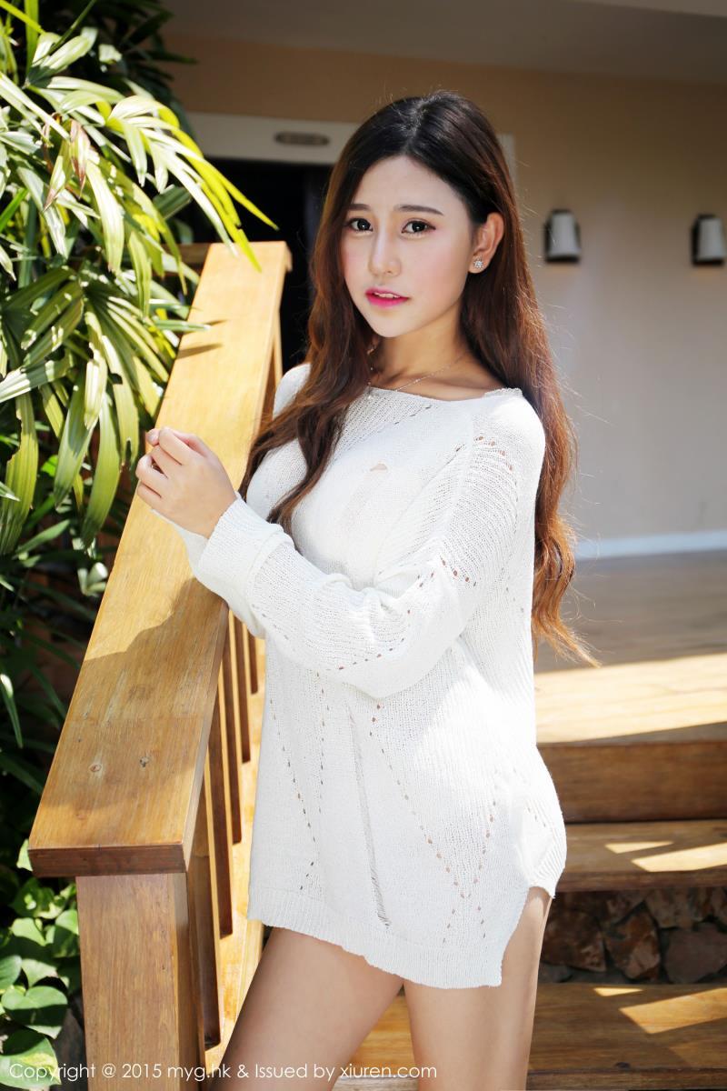 Milk楚楚 - 旅拍美女4套内衣写真 美媛馆Milk楚楚美女图片