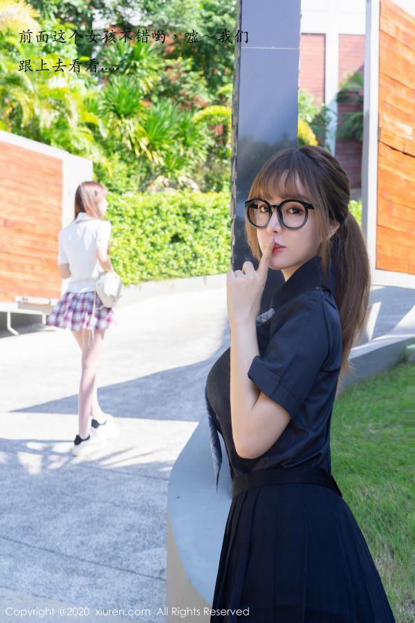 王雨纯&周于希Sandy丝袜制服剧情诱惑 秀人网姐妹花写真集