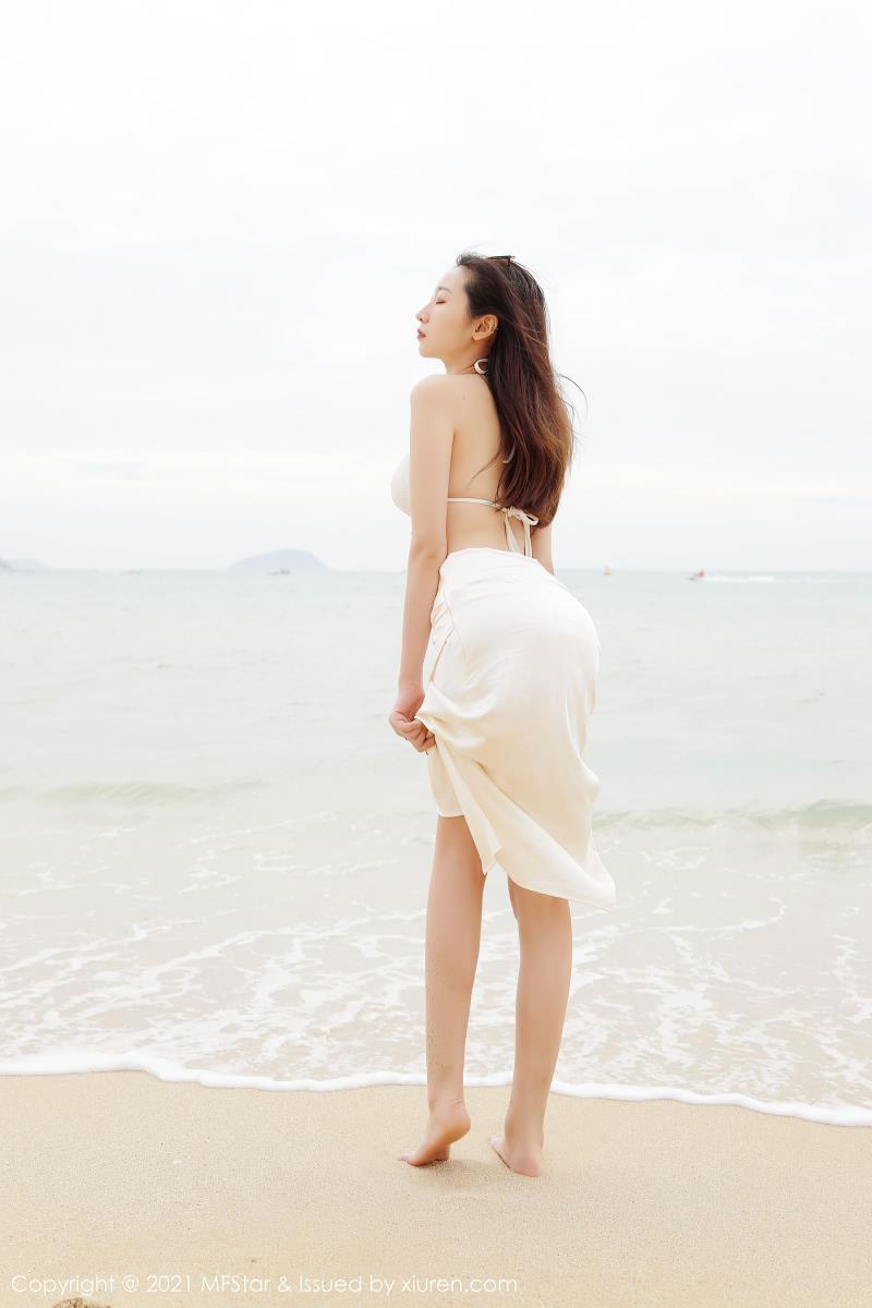 海边沙滩性感比基尼美女系列套图(模范学院安琪Yee写真)